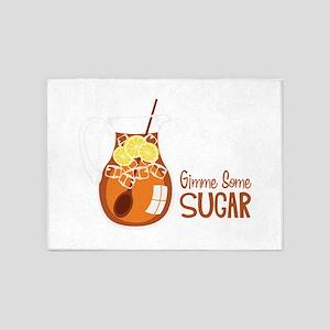 Gimme Some Sugar 5'x7'Area Rug