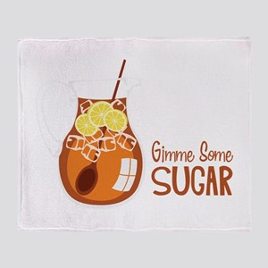 Gimme Some Sugar Throw Blanket