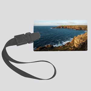 Lizard Point, Cornwall Large Luggage Tag