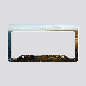 Lizard Point, Cornwall License Plate Holder