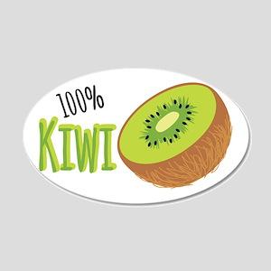 100 % Kiwi Wall Decal