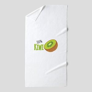 100 % Kiwi Beach Towel