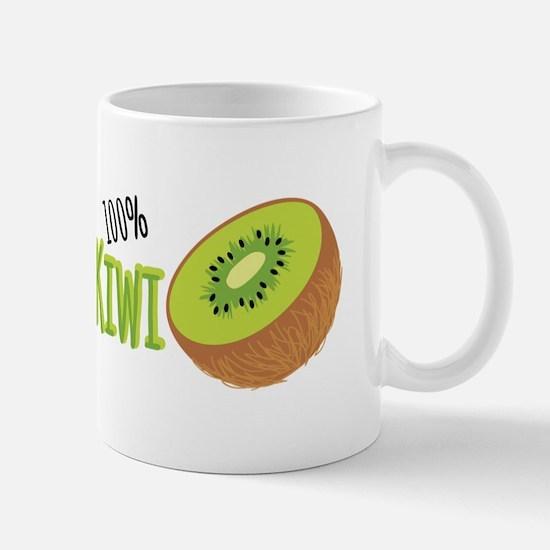 100 % Kiwi Mugs