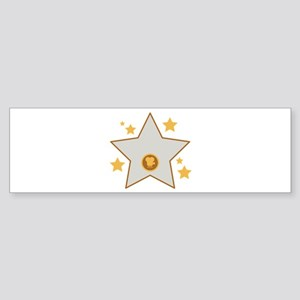Hollywood Acting Movies Film Star Bumper Sticker
