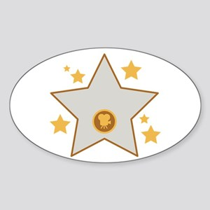 Hollywood Acting Movies Film Star Sticker