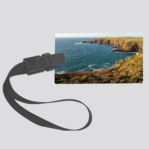 Housel Bay and Lizard Point Large Luggage Tag