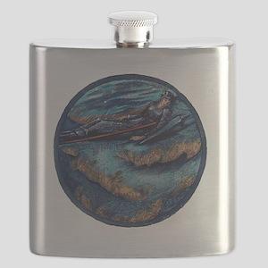 Burne Jones Flame Heath Flask
