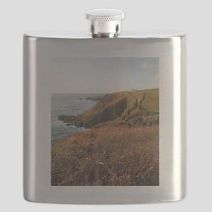 Lizard Point headland, Cornwall Flask