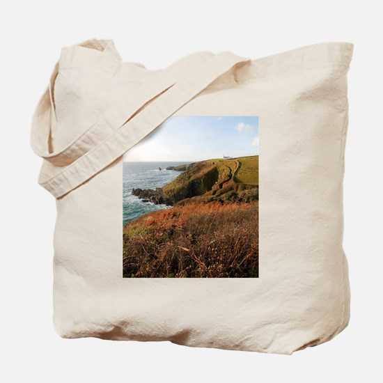 Lizard Point headland, Cornwall Tote Bag