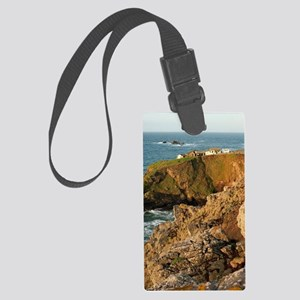 Southernmost point of mainland E Large Luggage Tag
