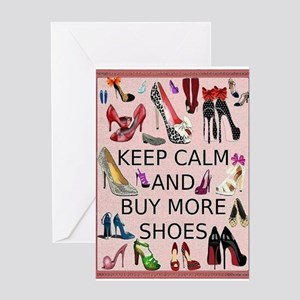 High heel greeting cards cafepress shoes card greeting cards m4hsunfo