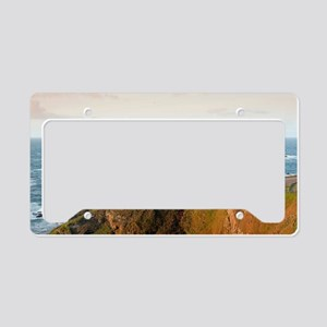 Lizard Point Cornwall License Plate Holder