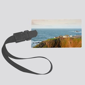 Lizard Point Cornwall Large Luggage Tag