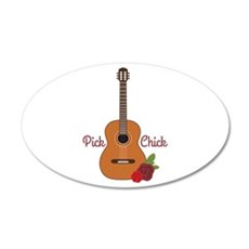 Pick Chick Wall Decal