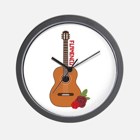 Flamenco Wall Clock