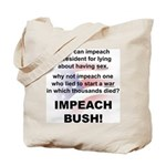 Impeach Bush Tote Bag