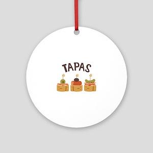 Tapas Ornament (Round)