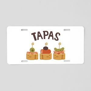 Tapas Aluminum License Plate