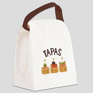 Tapas Canvas Lunch Bag