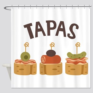 Tapas Shower Curtain