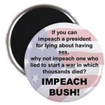 Impeach Bush Magnet (10 pk)