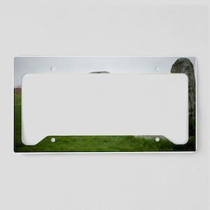 Men-an-tol or Crick Stone License Plate Holder