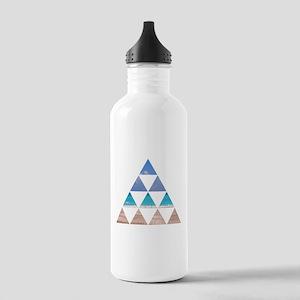 Fractal Beach Water Bottle
