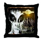 The Great Deception Throw Pillow