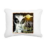 The Great Deception Rectangular Canvas Pillow