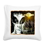 The Great Deception Square Canvas Pillow