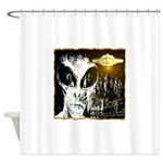 The Great Deception Shower Curtain