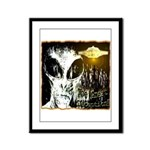 The Great Deception Framed Panel Print