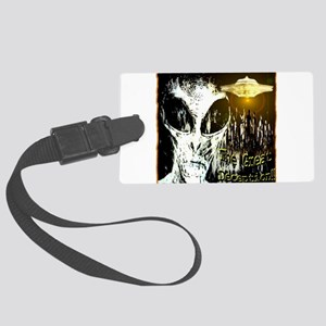 The Great Deception Large Luggage Tag