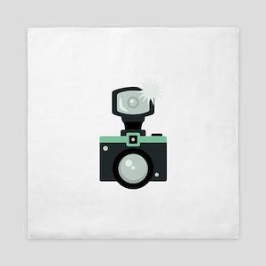 Photography Camera Queen Duvet