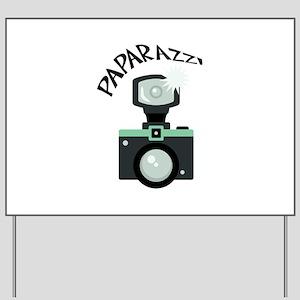 PAPARAZZI Yard Sign