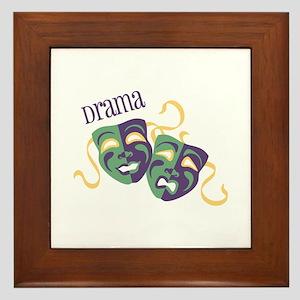 Drama Framed Tile