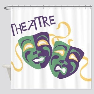 THEATRE Shower Curtain
