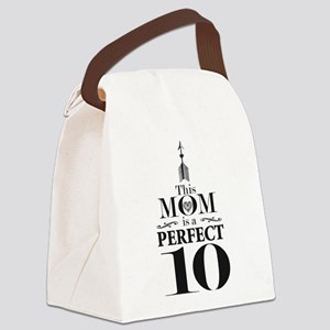 This Mom is a Perfect 10 Canvas Lunch Bag