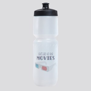 Lets go to the MOVIES Sports Bottle