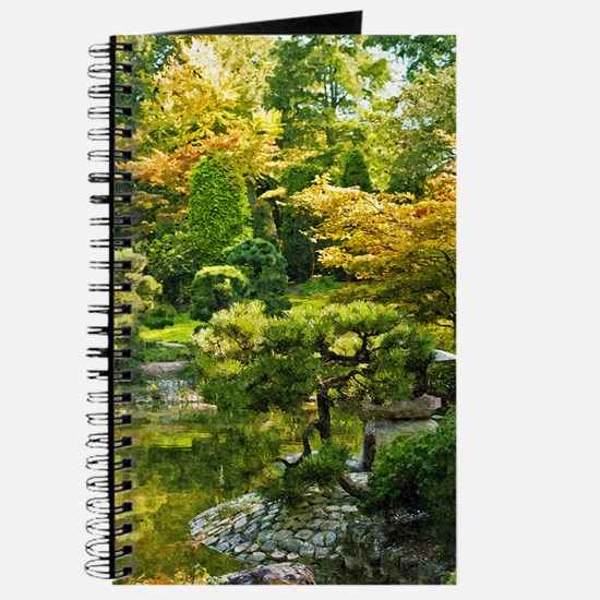 Japanese garden, early autumn Journal