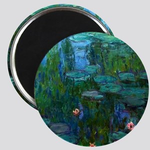 monet nymphea lily pond giverny Magnets