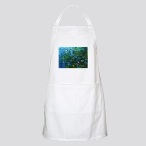 monet nymphea lily pond giverny Apron