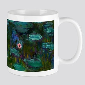 monet nymphea lily pond giverny Mugs