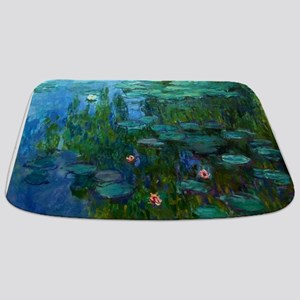 monet nymphea lily pond giverny Bathmat