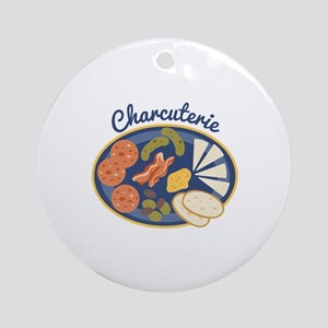 Charcuterie Ornament (Round)