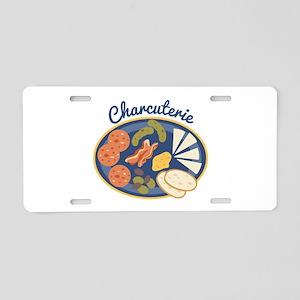 Charcuterie Aluminum License Plate