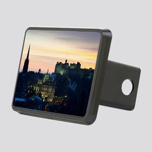View of Edinburgh Castle a Rectangular Hitch Cover