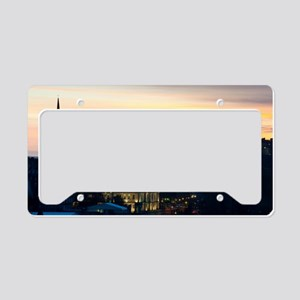 View of Edinburgh Castle at n License Plate Holder