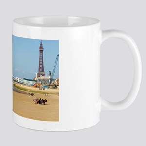 Blackpool Tower and central pier Mug