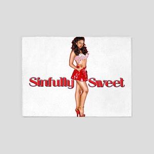 SinfullySweetTrans2 5'x7'Area Rug